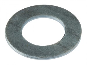 Flat Penny Washer ZP M8 x 25mm Bag 10
