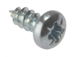 Self-Tapping Screw Pozi Pan Head ZP 1/4in x 4 Box 200