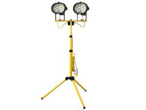 Twin Tripod Site Light 1000W 110V