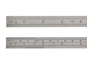 712S Stainless Steel Rule 300mm / 12in