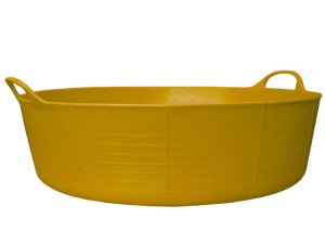Gorilla Tub® Shallow 35 litre - Yellow