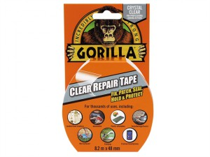 Gorilla Tape Clear Repair 48mm x 8.2m