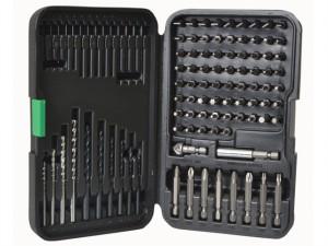 Drill & Bit Set In Case Set 102 Piece