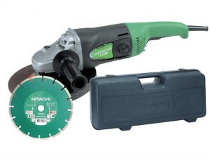 G23SS 230mm Angle Grinder with Diamond Blade & Case 1900 Watt 110 Volt