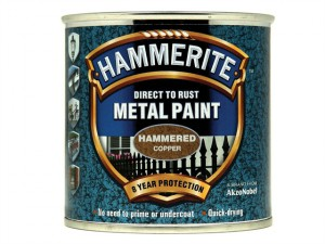 Direct to Rust Hammered Finish Metal Paint Copper 250ml