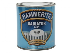 Radiator Paint Gloss White 500ml