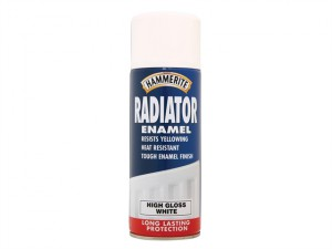 Radiator Enamel Aero Gloss White 400ml