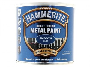 Direct to Rust Smooth Finish Metal Paint Blue 250ml