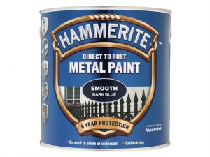 Direct to Rust Smooth Finish Metal Paint Dark Blue 2.5 Litre