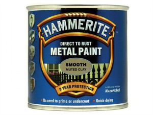 Direct to Rust Smooth Finish Metal Paint Muted Clay 250ml
