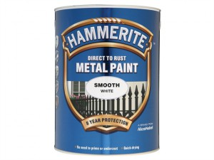 Direct to Rust Smooth Finish Metal Paint White 5 Litre