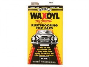 Waxoyl Refill Can Black 5 Litre