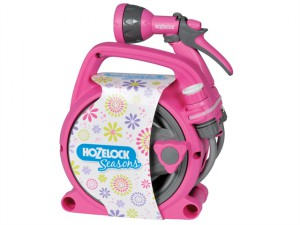 Seasons Pico 10m Reel & Spray Gun Pink