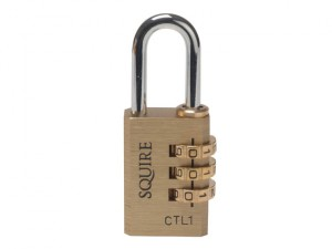 CTL1 Brass Tool Box Combination Lock 30mm