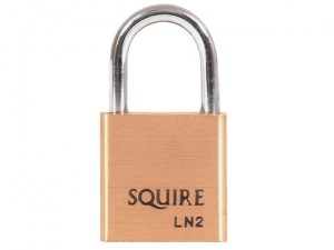 LN2 Lion Brass Padlock 25mm