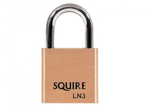 LN3 Lion Brass Padlock 30mm