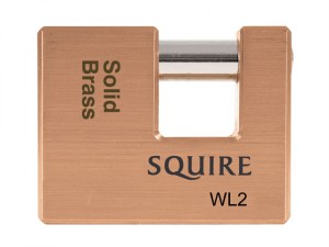 WL2 Solid Brass Warehouse Padlock 70mm