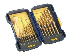 HSS TiN Pro Drill Set 15 Piece