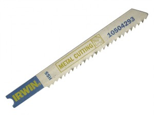 Jigsaw Blades Metal Cutting Pack of 5 U118G