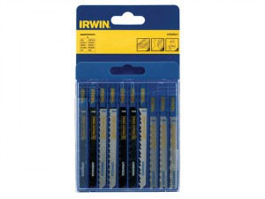 Jigsaw Blade Set Assorted 10 Piece Set
