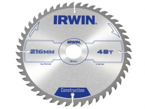 Construction Circular Saw Blade 216 x 30mm x 48T ATB