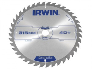 General Purpose Table & Mitre Saw Blade 315 x 30mm x 40T ATB