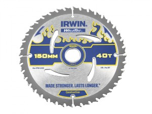 Weldtec Circular Saw Blade 150 x 20mm x 40T ATB