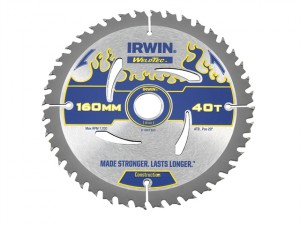 Weldtec Circular Saw Blade 160 x 20mm x 40T ATB