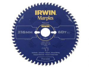 Marples Circular Saw Blade 216 x 30mm x 60T ATB/Neg M