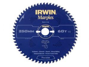 Marples Circular Saw Blade 250 x 30mm x 60T ATB/Neg M