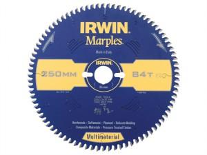 Marples Circular Saw Blade 250 x 30mm x 84T TCG/Neg