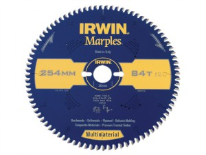Marples Circular Saw Blade 254 x 30mm x 84T TCG/Neg