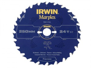 Marples Table & Mitre Circular Saw Blade 250 x 30mm x 24T ATB