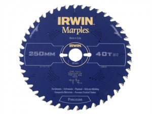 Marples Table & Mitre Circular Saw Blade 250 x 30mm x 40T ATB