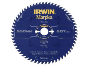 Marples Table & Mitre Circular Saw Blade 250 x 30mm x 60T ATB