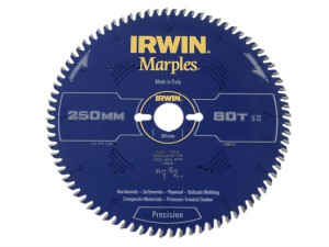 Marples Circular Saw Blade 250 x 30mm x 80T ATB