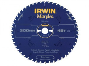 Marples Table & Mitre Circular Saw Blade 300 x 30mm x 48T ATB