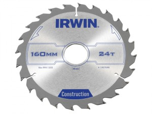 Professional Circular Saw Blade 160 x 30mm x 24T - Wood