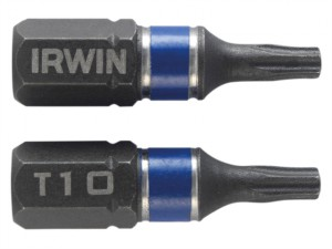 Impact Screwdriver Bits TORX TX10 25mm Pack of 2