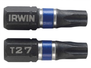 Impact Screwdriver Bits TORX TX27 25mm Pack of 2
