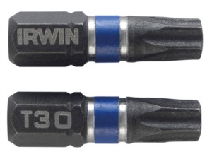 Impact Screwdriver Bits TORX TX30 25mm Pack of 2