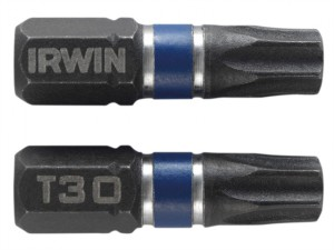 Impact Screwdriver Bits TORX TX30 25mm Pack of 20