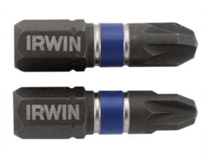 Impact Screwdriver Bits Pozi PZ3 25mm Pack of 10