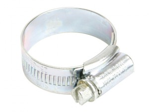 6 Zinc Protected Hose Clip 110 - 140mm (4.3/8 - 5.1/2in)