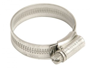 O Stainless Steel Hose Clip 16 - 22mm (5/8 - 7/8in)