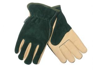 Men's Gloves Green / Tan