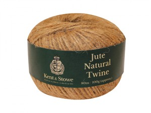 Jute Twine Natural 80m (100g)