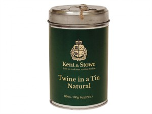 Twine In a Tin Natural 80m (80g)