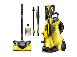 K4 Premium Full Control Home Pressure Washer 130 Bar 240 Volt