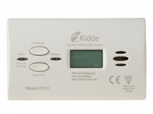 Carbon Monoxide Alarm Digital 10 Year